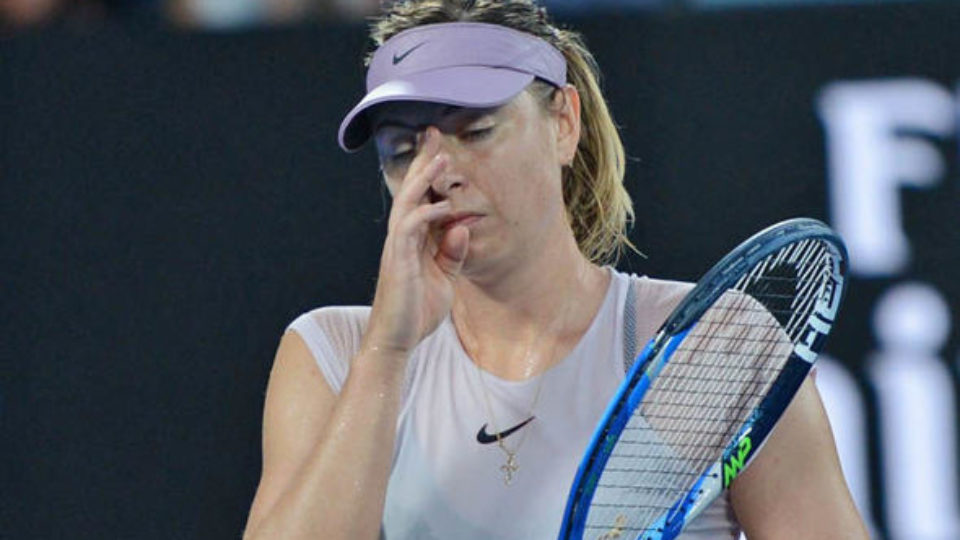 Maria Sharapova is out of Doha Open Pic Express