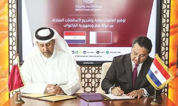 Paraguay-Qatar Signs Agreement on Protection of Investments