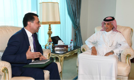 Tajik envoy to Qatar meets State Minister of Foreign Affairs of Qatar