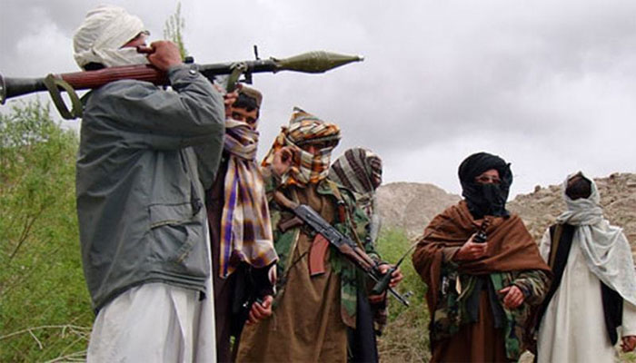 Taliban Fighters Pic The News