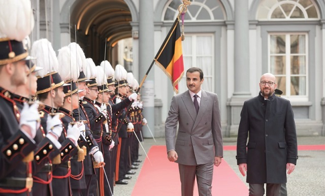 Belgium: Emir of Qatar Had Busy Schedule, Witnessed Signing of Agreements