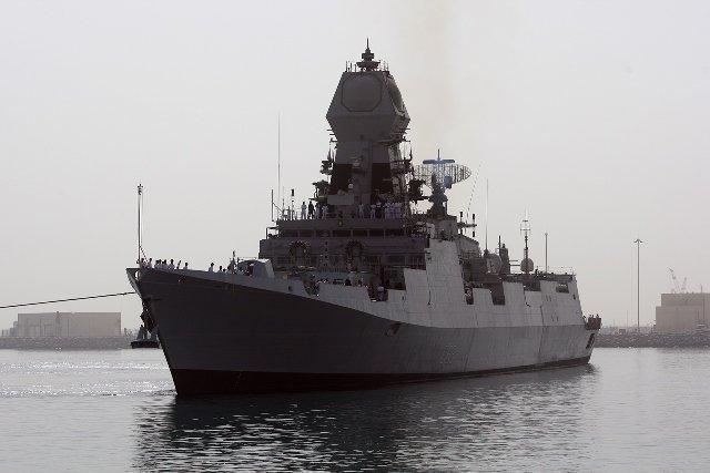 Qatar: Visiting Warships Dock at Hamad Port to Mark Start of 2018 DIMDEX