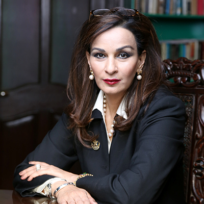 Sherry Rehman Pic by World Forum for Ethics in Business