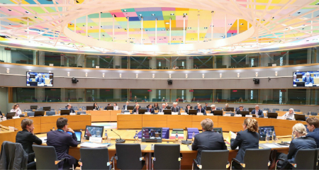 A view of Brussels conference on Syria