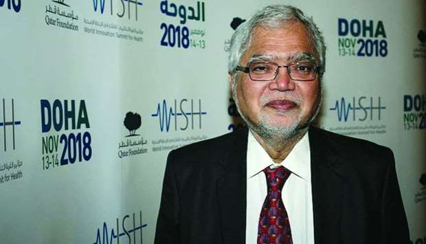 Dr Mukesh Kapila, Chair of WISH Healthcare in Conflict Zones Research Group