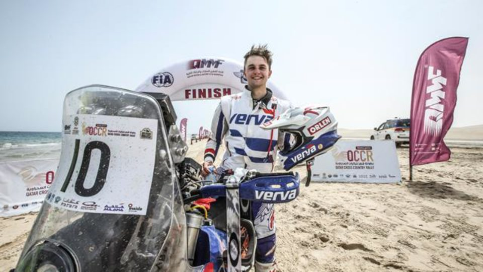 Przygonski Seals Famous Victory In Manateq Qatar Cross-Country Rally