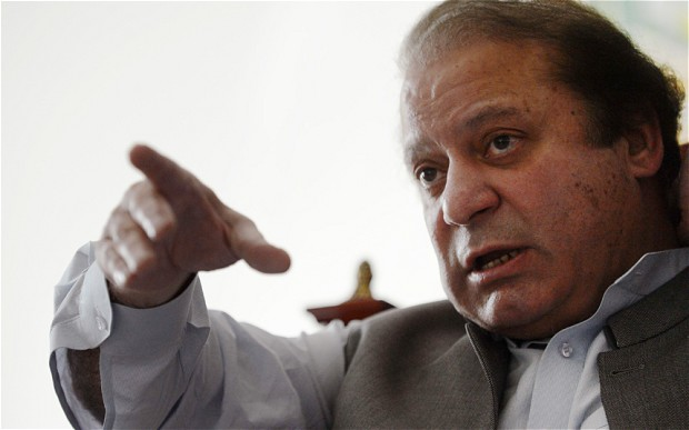 Nawaz Sharif three times ousted Prime Minister of Pakistan by President, Army coup and judiciary