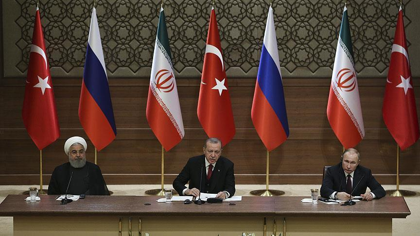 Russian, Turkish and Iran Leaders meet