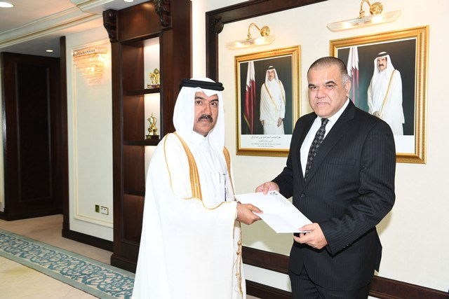 South African envoy to Qatar presents credentials