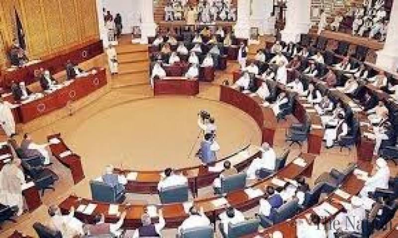 A view of KP Assembly Pic The Nation