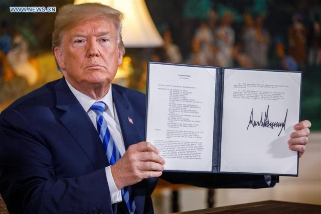 US Out in Iran Nuclear Deal, European Powers Try to Save Agreement