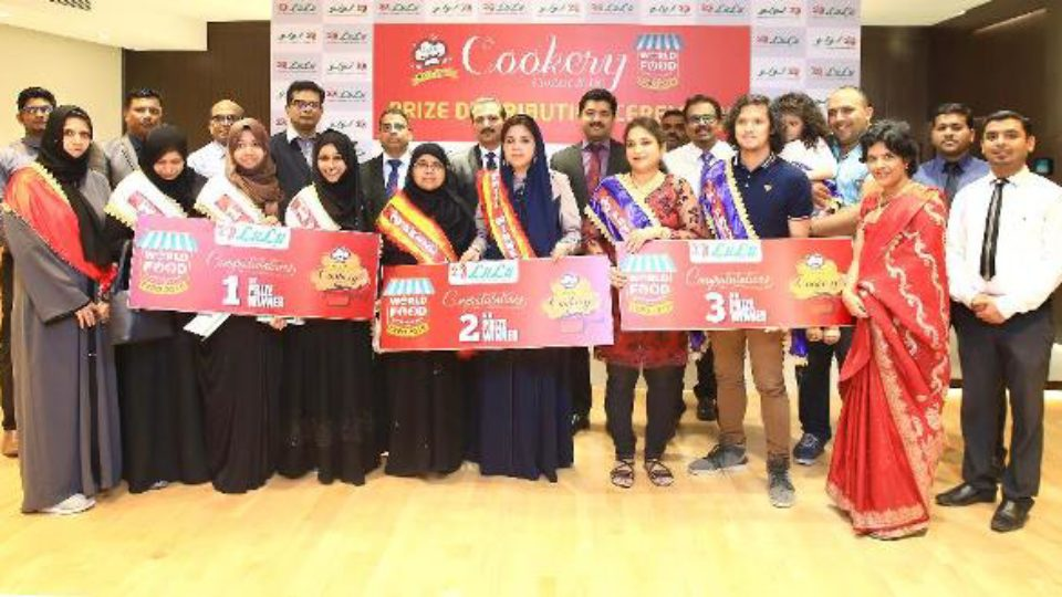 Group of 2018 Cookery winners with Lulu management and judges
