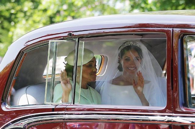 Britain's Prince Harry and Meghan Markle Tie the Knot as World Watches
