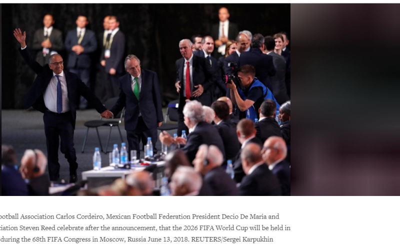 2026 FIFA World Cup Announcement