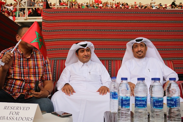 Fan Zone at Khalifa Int'l Stadium Opened With Morocco-Iran FIFA World Cup Match