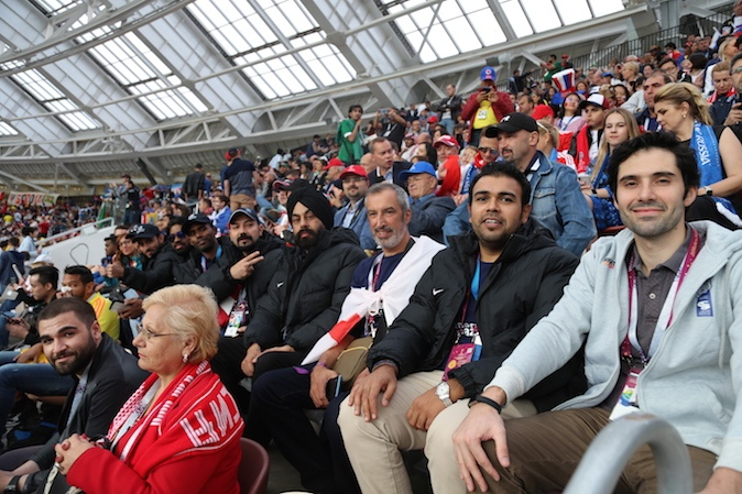 Bhulinder Singh, from India, was attending 2018 FIFA World Cup Russia