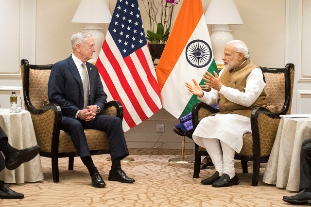 SD meets with Indian Prime Minister Narendra Modi