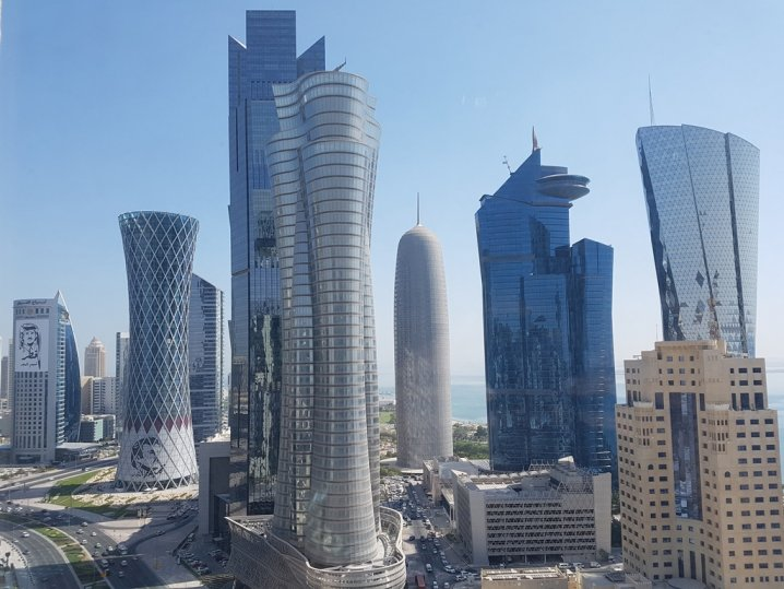 Doha Commercial Hub Picture Daily Peninsula