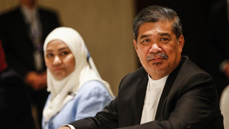 Malaysia's Defence Minister Mohammed Sabu Pic AP