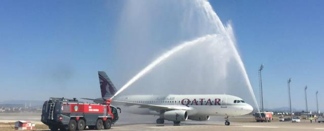 Qatar Airways Flight to Turkish Resort City of Antalya Inaugurated