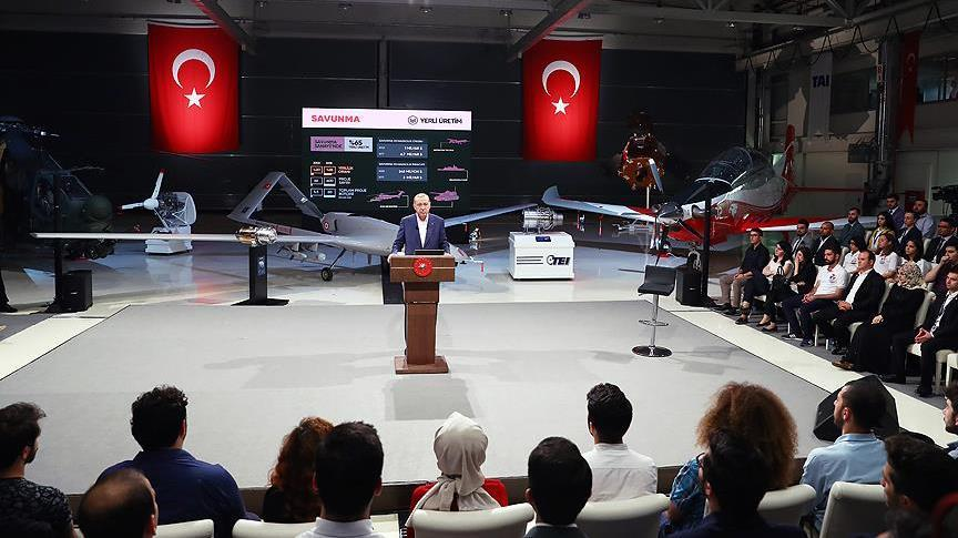 Turkish President Recep Tayyip Erdogan attended a live question-and-answer social media broadcast with Turkish youths on June 18