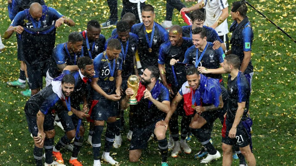 2018 FIFA World Cup Russia:  France Picked 2018 Champion Trophy, Beat Croatia by 4-2