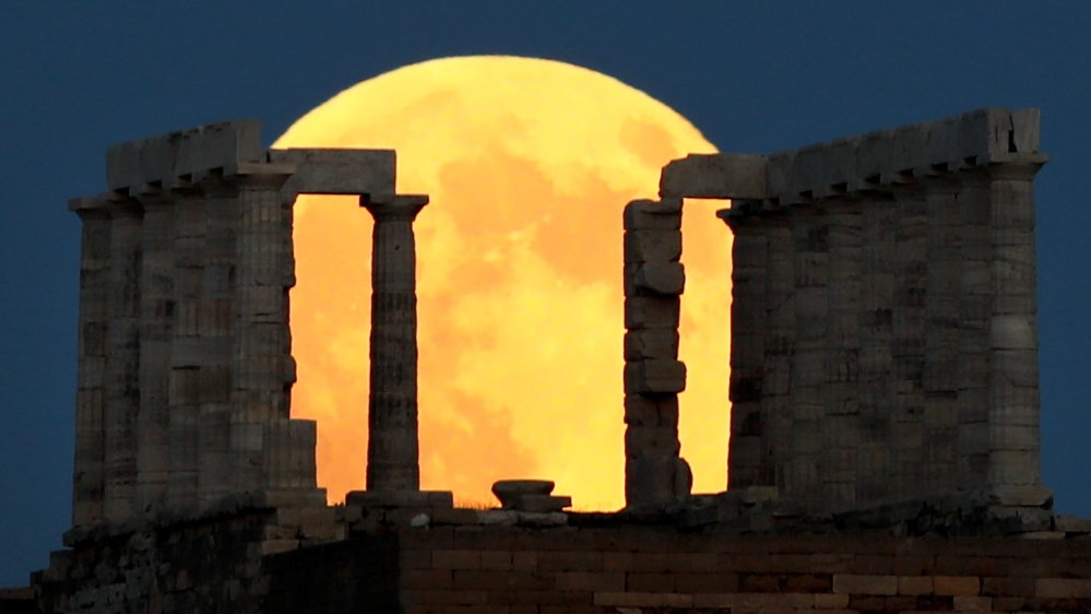 21st Century Longest Lunar Eclipse Turns Moon Blood-Red