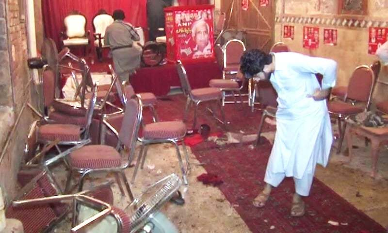 Pakistan: Political Leader Among 12 Killed, Over 30 Injured In Suicidal Attack in Election Corner Meeting