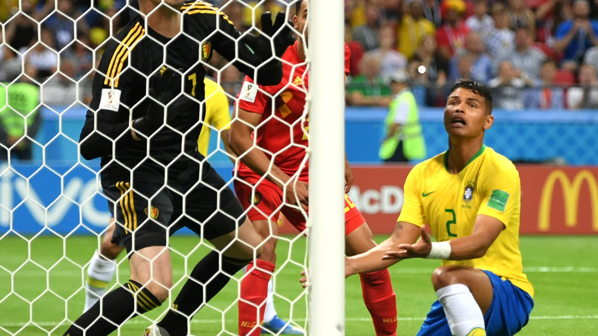 2018 FIFA World Cup: Red Devils See off Brazil to Reach Semis