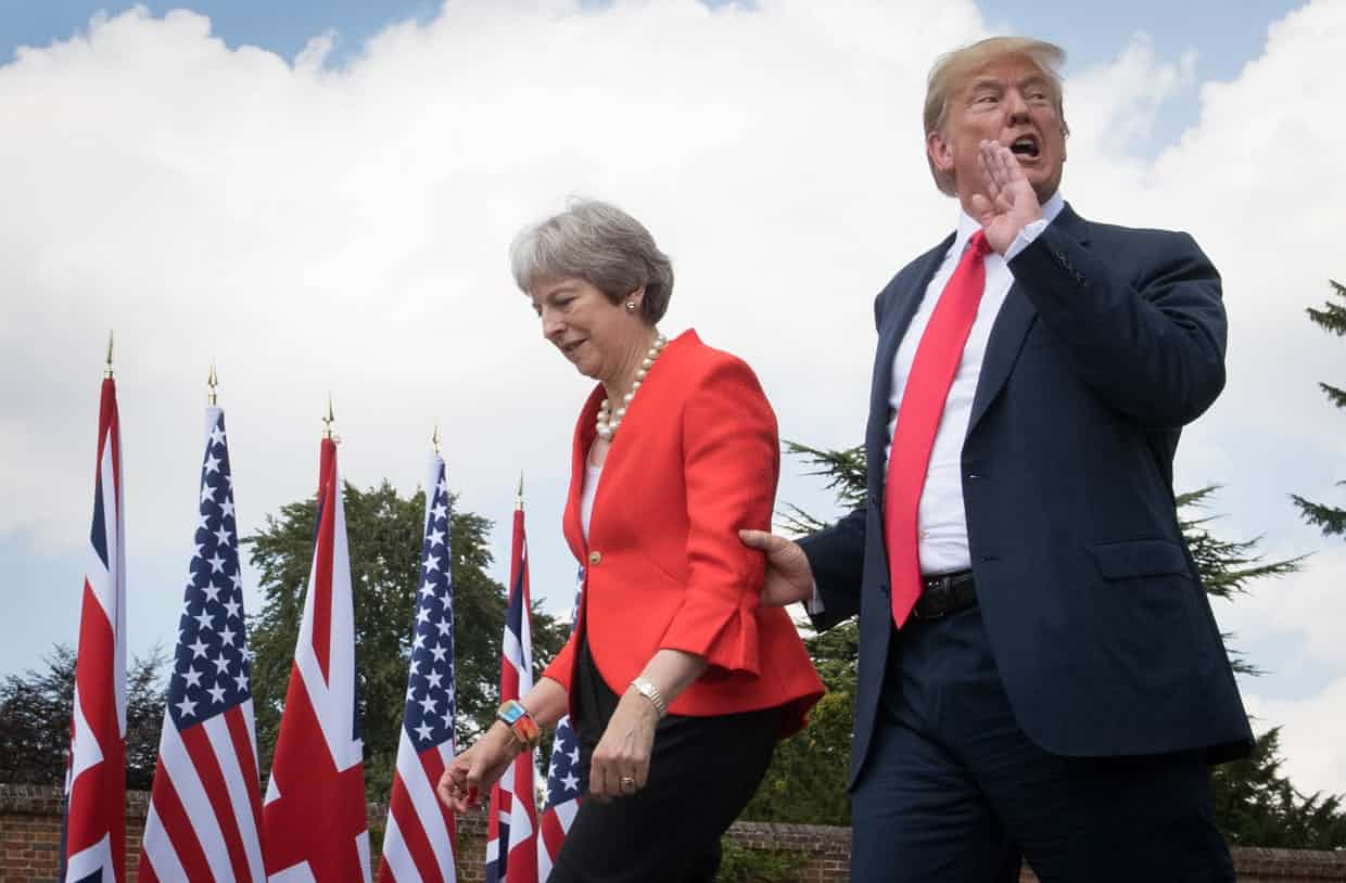 Trump Leaves London After Wreaking Diplomatic Destruction