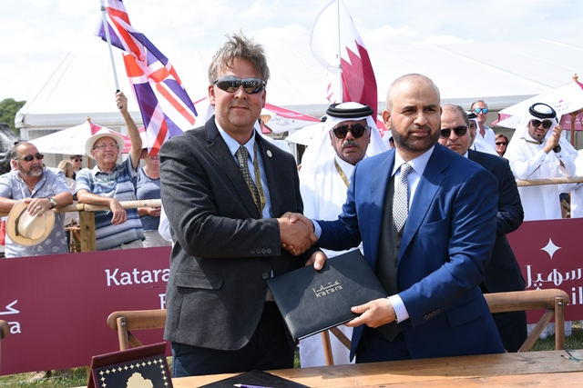 """Katara Inks a Twinning Agreement Between S'hail and """"The Game Fair"""" Exhibition"""