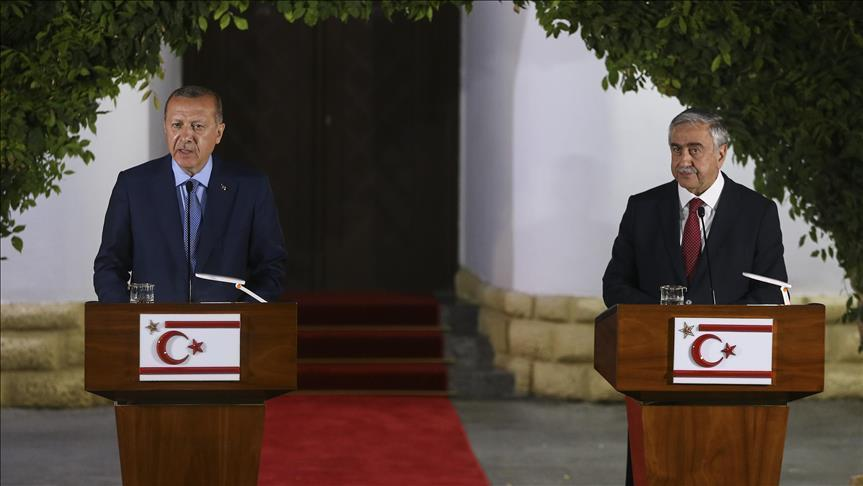 ' Cyprus is Our National Cause ' President Erdogan of Turkey