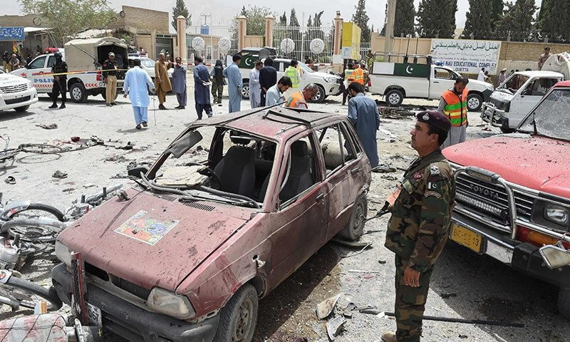 Voting Underway Across Pakistan, 31 Killed in Suicide Blast Outside Quetta Polling Station