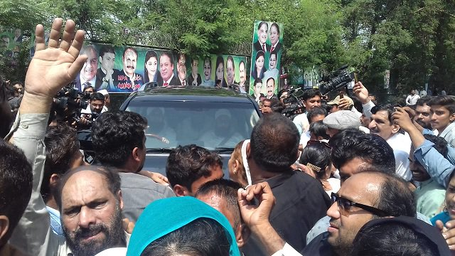 Lahore: Thousands Attended Funeral of Begum Kulsoom Nawaz
