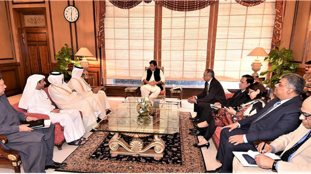 Qatar Petroleum CEO Hold Cooperation Talks in Islamabad With Prime Minister Khan