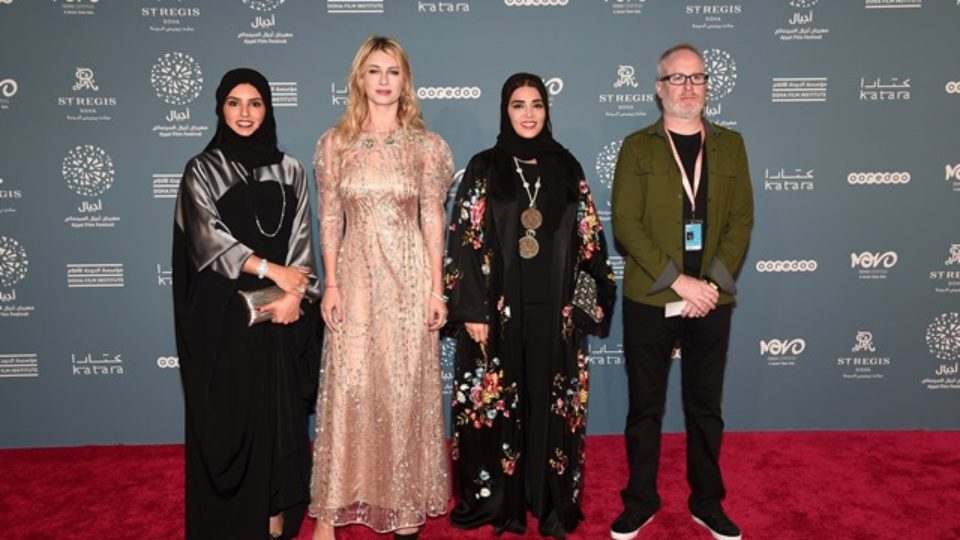 Qatari Talents Walk the Red Carpet at 6th Ajyal Film Festival