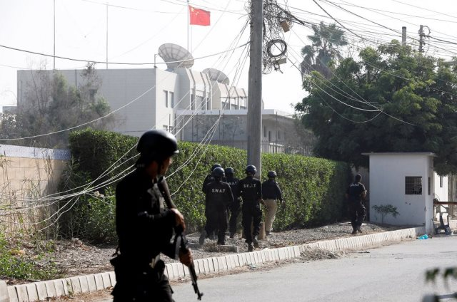 Terror Attack on Chinese Consulate in Karachi Foiled; 7 Including 3 Terrorists Killed