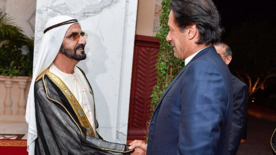 Imran Khan Visits United Arab Emirates