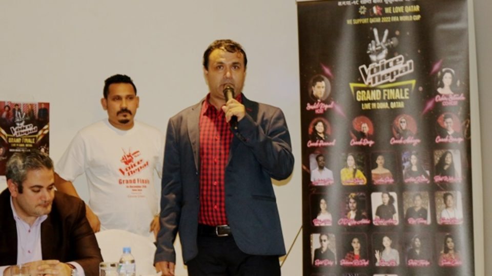 'Voice of Nepal Grand Finale' To Be Held in Doha on 14th December