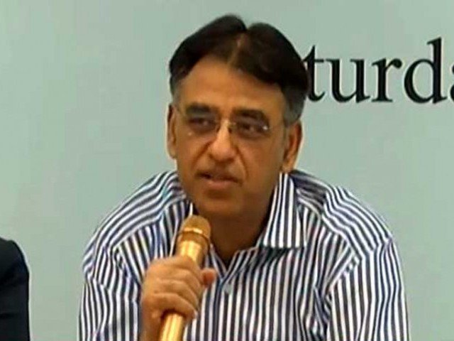 Asad Umar, Pakistan Minister of Finance