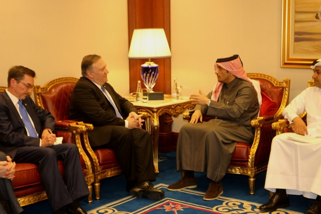 Pompeo Led US Delegation at Second Qatar-US Strategic Dialogue, MOUs Signed Between Qatar & US
