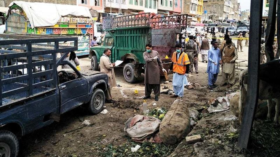 A view from Quetta blast
