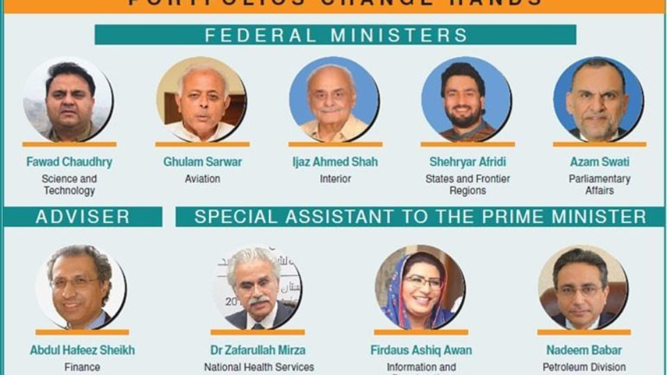 Pakistan New Cabinet