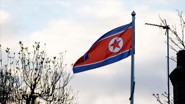 Picture North Korea Flag by Anadolu News