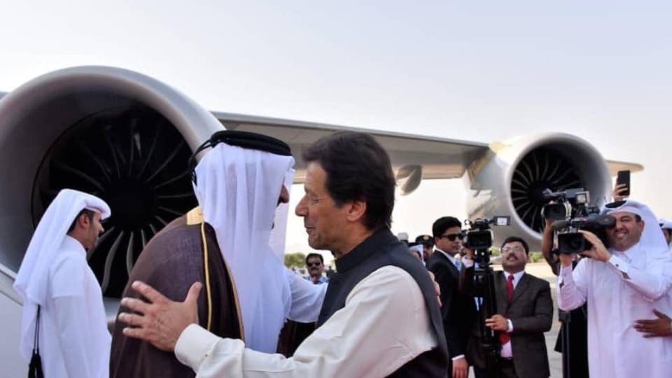 Amir of Qatar Warm Welcomed on Arrival in Islamabad, 21 Guns Salute Accorded, Three MoUs Signed