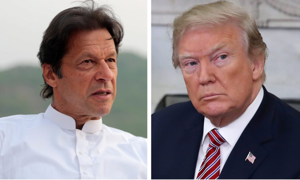 Pakistani PM Imran Khan to meet US President Trump Pic Daily Dawn