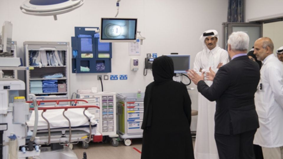 Amir of Qatar Inaugurates New Trauma and Emergency Center at HMC
