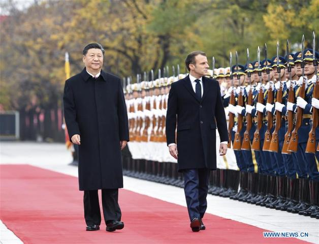 Xi – Macron Held Talks to Enhance China-France Ties, Action Plan Released