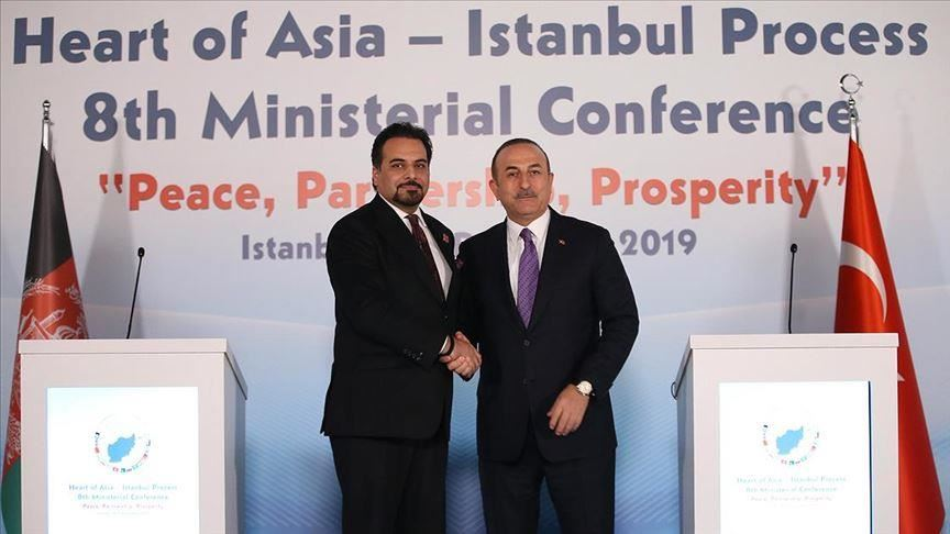 Afghanistan Acting Foreign Minister Idrees Zaman meets Mevlut Cavusoglu Picture Anadolu News