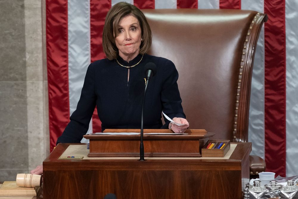 US President  Donald Trump Impeached by House of Representatives
